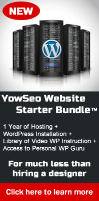 WordPress hosting package